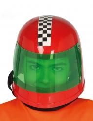 Rode Formule 1 coureur helm voor kinderen