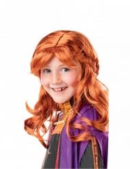Anna Frozen 2™ pruik voor meisjes