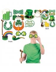 St. Patrick photobooth set 12 accessoires
