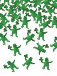 Groen St. Patrick kabouter confetti 42 gr