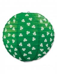 Groene papieren St. Patrick lantaarn