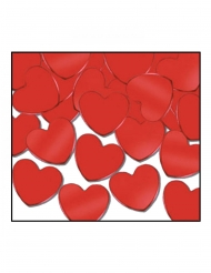 Rode harten confetti 28 gram