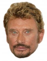 Johnny Halliday masker van karton
