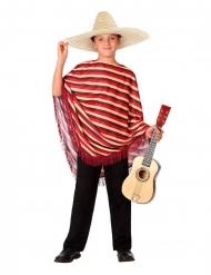 Mexicaans kostuum met poncho voor kinderen