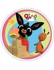 Bing™ eetbare taartdecoratie 21 cm