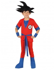 Rood manga ninja kostuum voor jongens