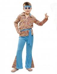 Psychedelisch hippie kostuum voor jongens