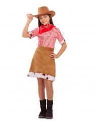 Wild West cowgirl kostuum voor meisjes