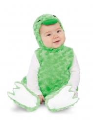 Kleine groene eend kostuum voor baby