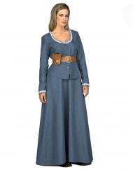 Blauw Western kostuum voor dames