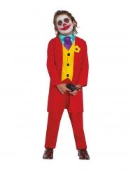 Gestoorde joker clown kostuum voor kinderen
