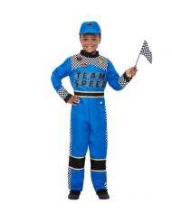 Blauw Formule 1 kostuum voor jongens