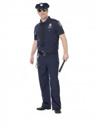 NYC politie kostuum voor heren - Grote maten