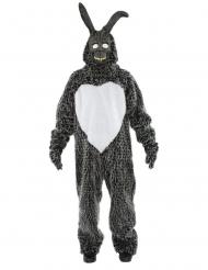 Eng zwart konijn kostuum voor volwassenen