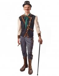 Dandy steampunk kostuum voor mannen