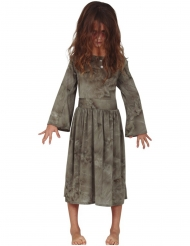 Grijs spook kostuum voor meisjes