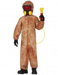 Radioactieve zombie kostuum voor kinderen