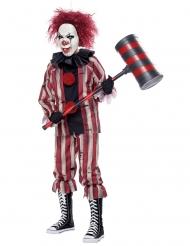 Horror nachtmerrie clown kostuum voor jongens