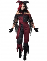 Psychopatische joker kostuum voor dames