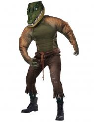 Krokodillen kostuum voor volwassenen