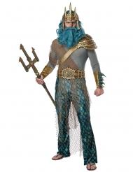 Zeegod kostuum voor mannen