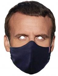 Kartonnen masker president met masker