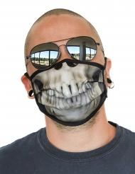 Skelet gezichtsmasker voor volwassenen
