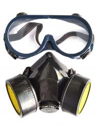 Dummy gasmasker set voor volwassenen