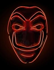 Rood LED masker bankovervaller volwassenen
