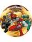 Eetbare taartdecoratie Power Rangers™