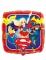 DC Super Hero Girls™ aluminium comic book ballon