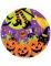 8 kartonnen Happy Halloween borden