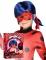 Cadeauverpakking Ladybug™ pruik en masker voor kinderen