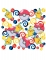 Pokemon tafel confetti