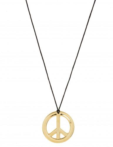 Goudkleurig hippie halsketting
