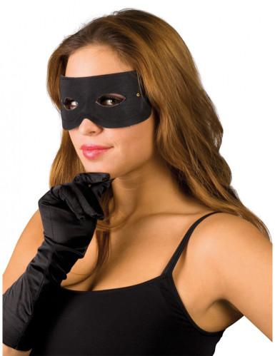 Half gangstermasker voor volwassenen