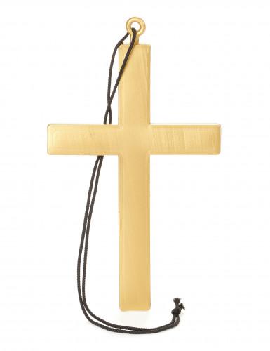 Goudkleurig monniken kruis voor volwassenen