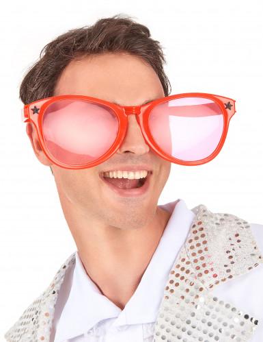 Rode reuze bril voor volwassenen -1