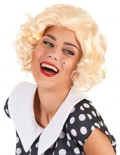 Gekrulde Marilyn Monroe™ pruik voor dames