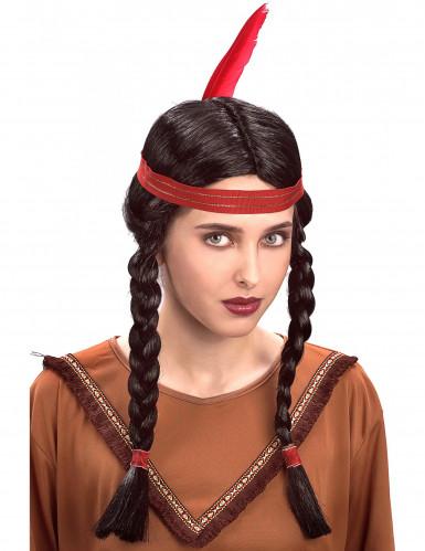 Indianenpruik voor dames