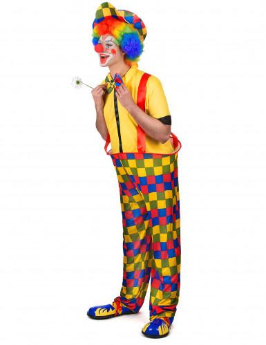 Wijde clown outfit voor mannen-1