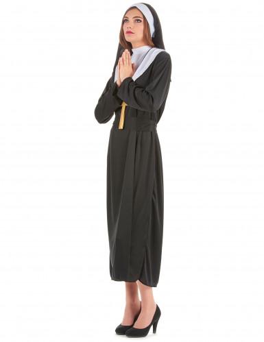 Religieuze nonnen outfit voor dames-1