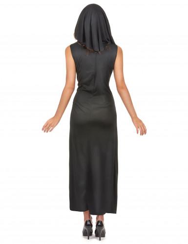 Sexy nonnen kostuum voor dames-2