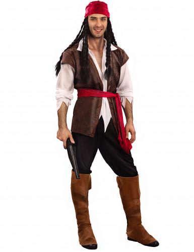 Piraten kostuum voor mannen