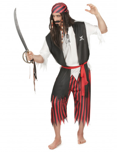 Piraten bandiet kostuum voor mannen-1