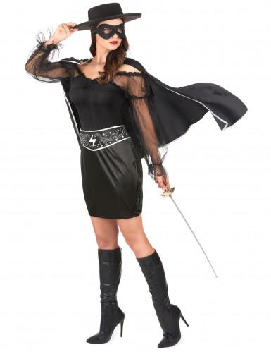 Musketier kostuum voor dames-1