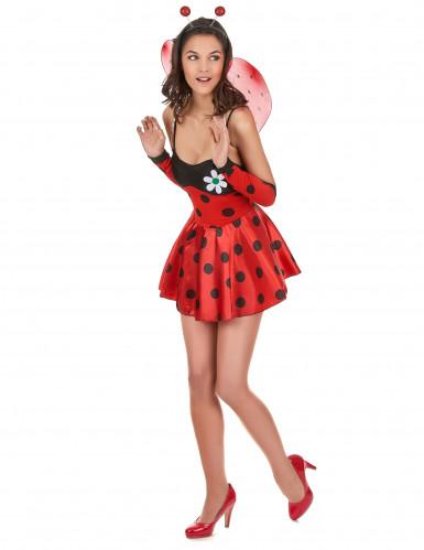 Sexy lieveheersbeestje kostuum voor dames-1