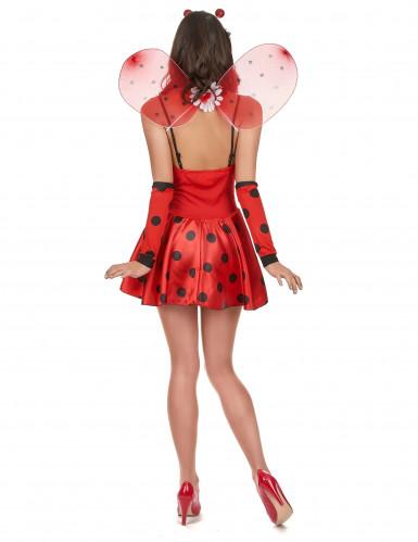 Sexy lieveheersbeestje kostuum voor dames-2