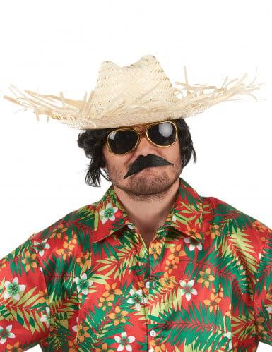 Strooien Hawaï-hoed voor volwassenen-1