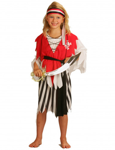 Schrik van de zeeën piratenpak voor meisjes